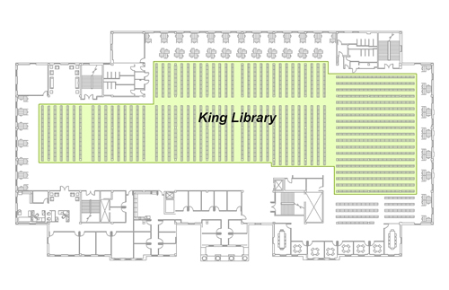 King Library: 2nd Floor